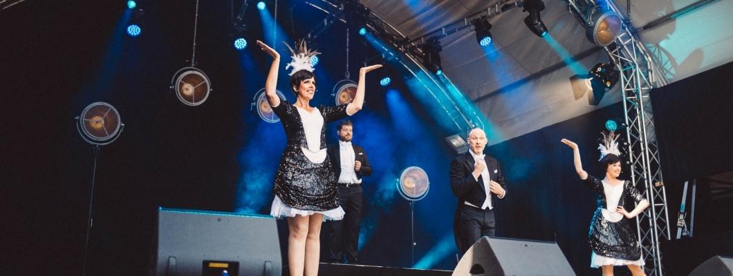 """M&M Events auf Burg Nideggen mit """"The Magic of Musical"""""""